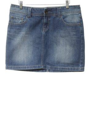 Esprit Jeansrock stahlblau Jeans-Optik