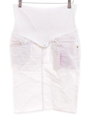 Esprit Spijkerrok wit casual uitstraling