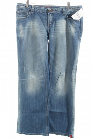 Esprit Jeansschlaghose blau Street-Fashion-Look