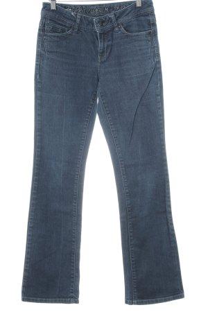 Esprit Jeans flare bleu foncé style décontracté