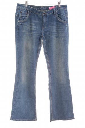Esprit Jeansschlaghose stahlblau-blau 90ies-Stil