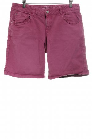 Esprit Jeansshorts violett Casual-Look