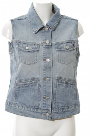 Esprit Denim Vest blue jeans look