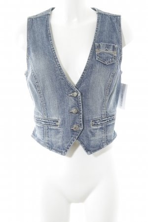Esprit Denim Vest blue casual look
