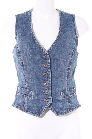 Esprit Jeansweste blau klassischer Stil