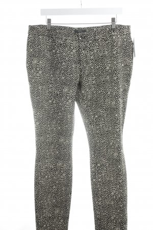 Esprit Jeggings black-cream abstract pattern casual look