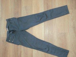 Esprit Pantalon cinq poches bleu foncé