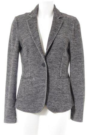 Esprit Jerseyblazer grau-schwarz meliert schlichter Stil