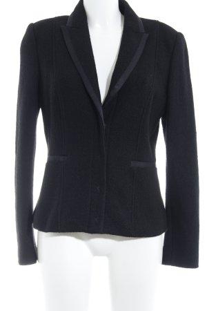 Esprit Jersey blazer zwart zakelijke stijl
