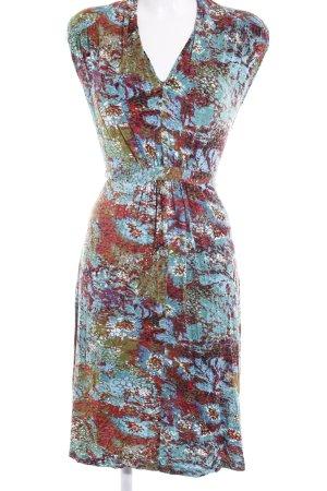 Esprit Jerseykleid abstraktes Muster Casual-Look