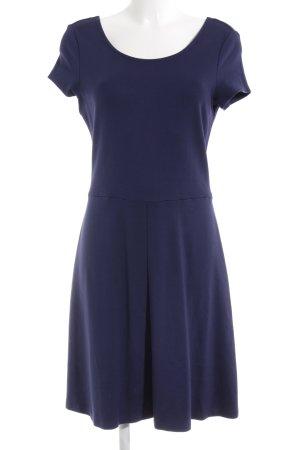 Esprit Jerseykleid dunkelblau Skater-Look
