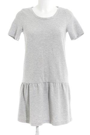 Esprit Vestido de tela de jersey gris claro-gris oscuro moteado look casual