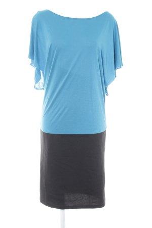 Esprit Jerseykleid kornblumenblau-schwarz Casual-Look