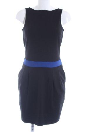 Esprit Jerseykleid schwarz-blau klassischer Stil