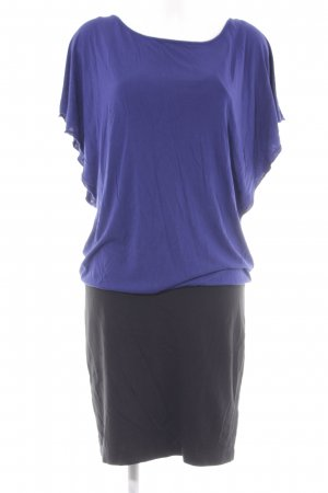 Esprit Jerseykleid schwarz-dunkelblau Casual-Look