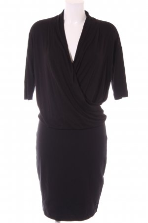 Esprit Jerseykleid schwarz Elegant