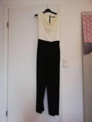 Esprit Jumpsuit white-black
