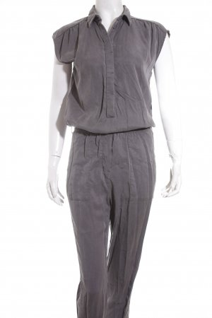 Esprit Jumpsuit grau Safari-Look