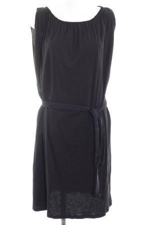 Esprit Kapuzenkleid schwarz schlichter Stil