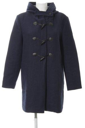 Esprit Hooded Coat dark blue-black casual look
