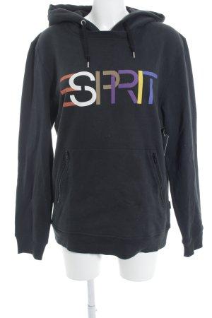 Esprit Kapuzensweatshirt dunkelblau schlichter Stil
