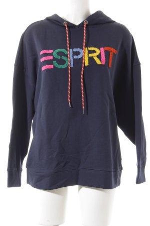 Esprit Kapuzensweatshirt grafisches Muster Casual-Look