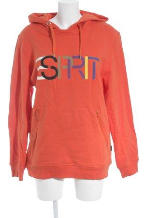 Esprit Kapuzensweatshirt hellrot sportlicher Stil