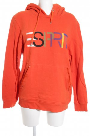 "Esprit Kapuzensweatshirt ""Opening Ceremony"" orange"