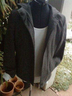 Esprit Wool Jacket anthracite mixture fibre