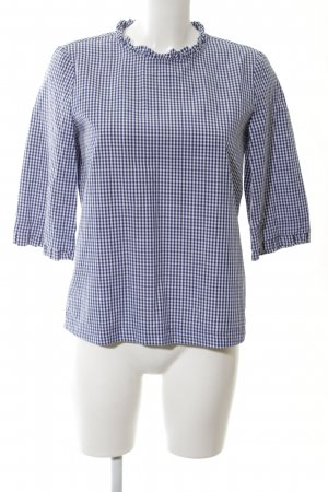 Esprit Checked Blouse blue-white check pattern casual look