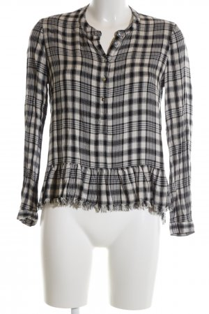 Esprit Checked Blouse black-nude allover print casual look