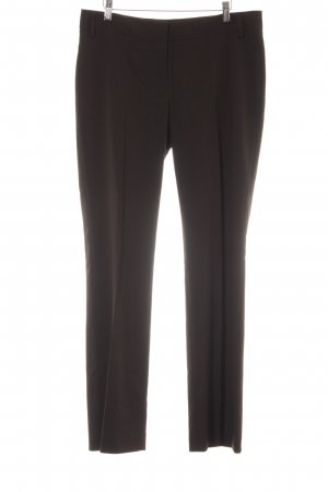 Esprit Pantalone peg-top marrone scuro stile professionale