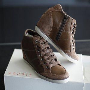 Esprit Laarzen met hak veelkleurig Leer