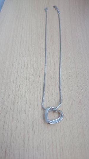 Esprit Kette mit Herzanhänger 925 Silber