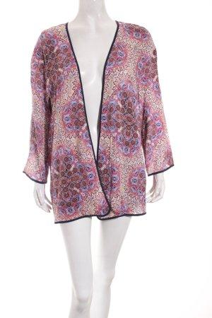 Esprit Blusa tipo kimono estampado con diseño abstracto look Boho