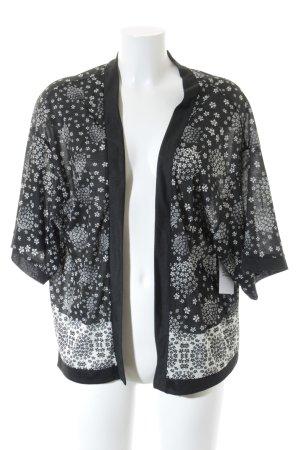 Esprit Felpa kimono motivo floreale stile hippie