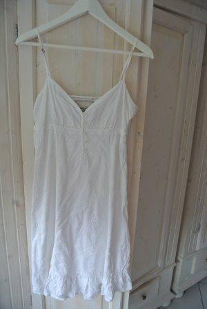 ESPRIT Klassisches Weißes Träger Kleid Gr. 36