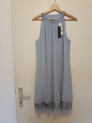 Esprit A Line Dress azure polyester