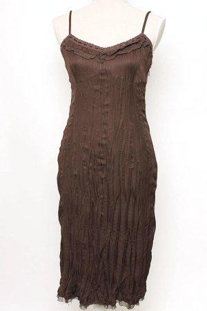 Esprit Kleid 38 m Spitze braun hippie boho romantik