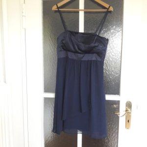 Esprit Kleid Ballkleid festlich blau Gr. 38