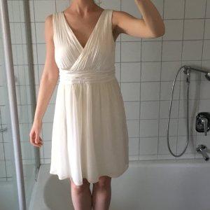 Esprit Kleid Creme edel M