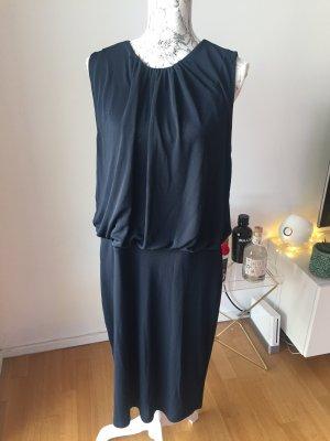 Esprit Vestido de chifón azul oscuro Poliéster
