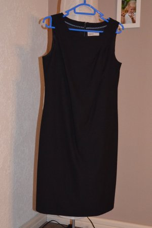 Esprit Kleid + EDC Strickjacke schwarz Gr. 36