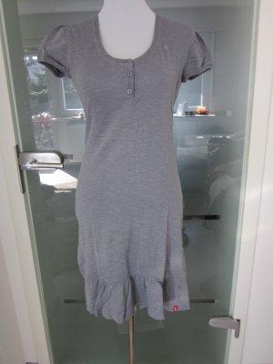 Esprit Kleid Grau Romantik Gr M