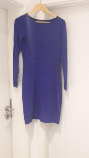 Esprit Vestido de tela de sudadera azul