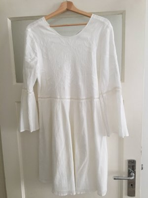 Esprit Robe empire blanc coton
