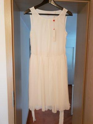 Esprit Chiffon Dress white-natural white