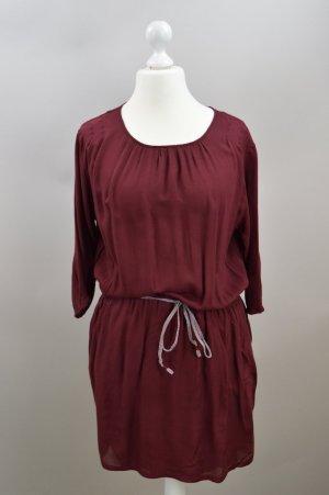 Esprit Kleid locker geschnitten rot Größe 44