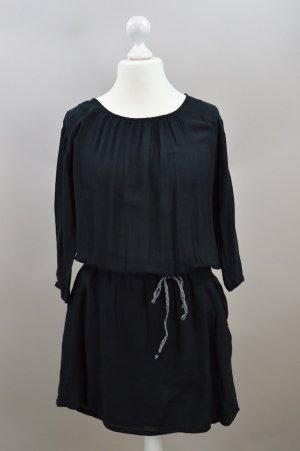 Esprit Kleid locker geschnitten schwarz Größe 42