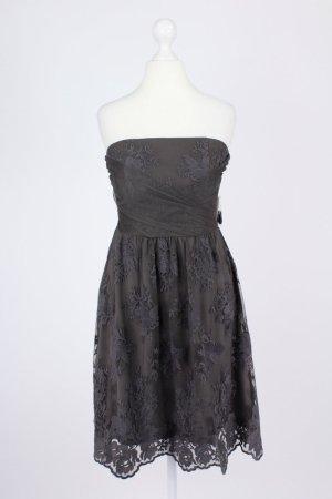 Esprit Kleid mit Spitze braun Größe S